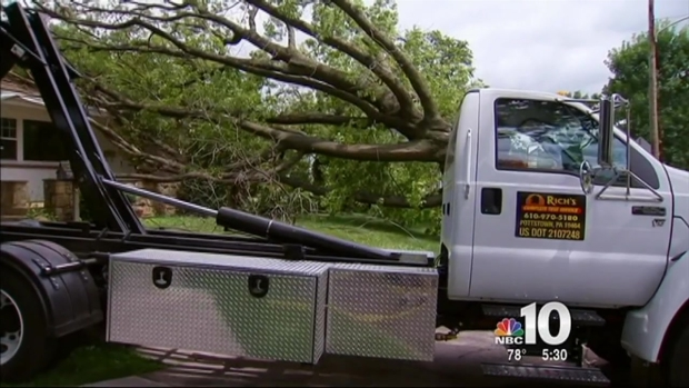 Thousands Left Without Power After Storms