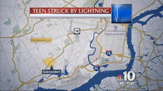 Local Teen Struck By Lightning