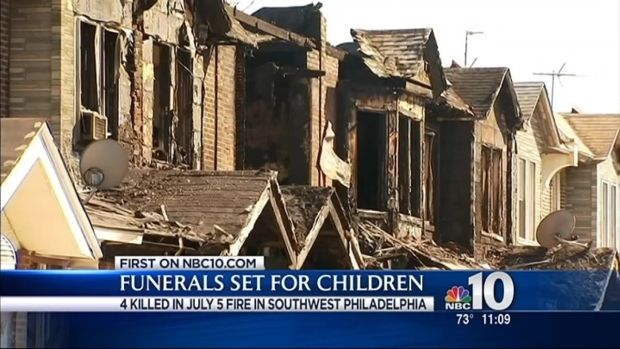 [PHI] Funerals Set for Children Killed in Massive House Fire