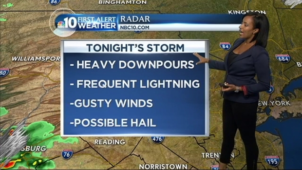 [PHI] First Alert Weather Forecast: Stormy