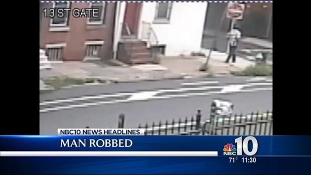 [PHI] Caught on Camera: Elderly Man Robbed
