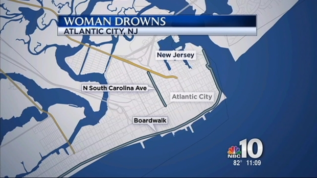 [PHI] Woman Drowns in Atlantic City Surf