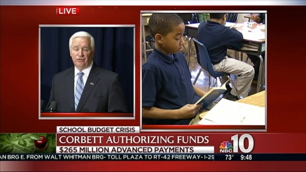 [PHI] Governor Advances Millions to Philly Schools