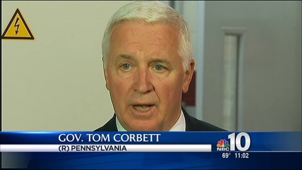 [PHI] Gov. Corbett Reacts To Philly School Crisis