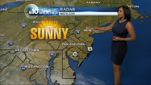 [PHI] NBC10 First Alert Weather: Nice Today But Rain Approaching