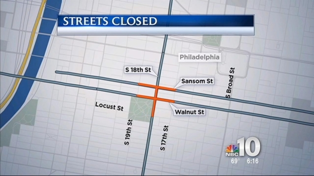 [PHI] Streets Closed in Center City