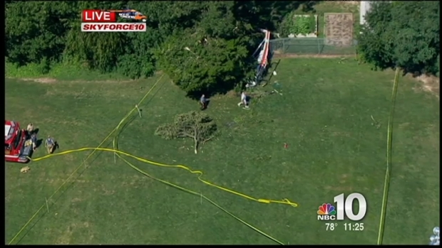 [PHI] Mosquito Helicopter Crashes in Cape May Courthouse