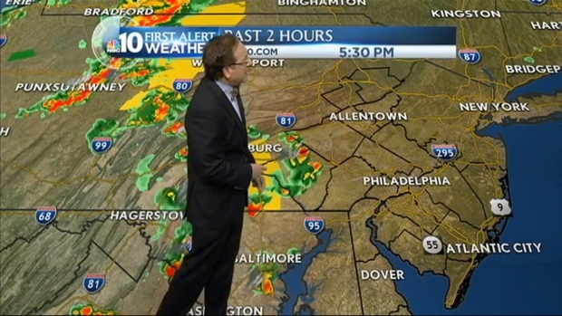 [PHI] NBC10 First Alert Weather: Storms Passing Through