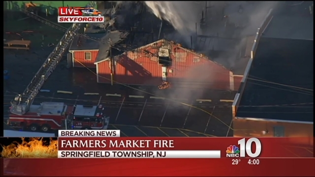 [PHI] Historic Farmers Market Going Up in Flames, Mayor Reacts
