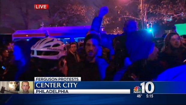 Philly Protesters Disrupt Rush Hour