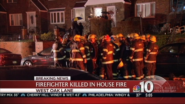 [PHI] Firefighter Dies in Early Morning Blaze