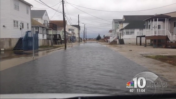 [PHI] Nor'easter Brings Coastal Flooding to Jersey Shore