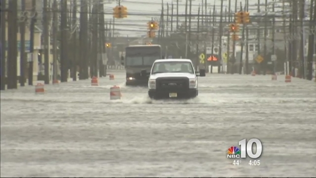 [PHI] Nor'Easter Causes Flooding on Jersey Shore Streets