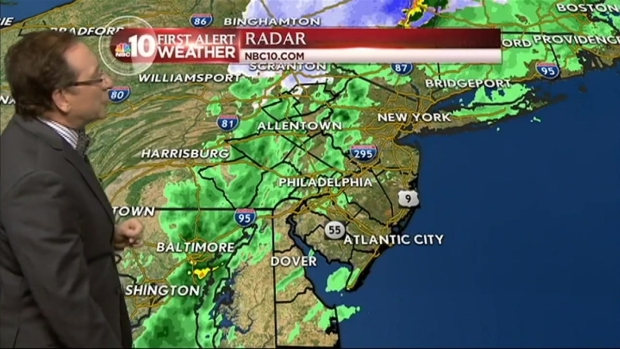 [PHI] First Alert Weather: Rain to Snow