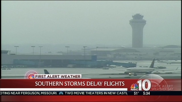 [PHI] Weather Causing Problems for Holiday Travelers at Airport
