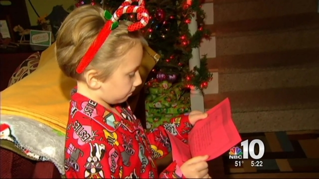 [PHI] SPCA Brings Furry Present to New Jersey Girl