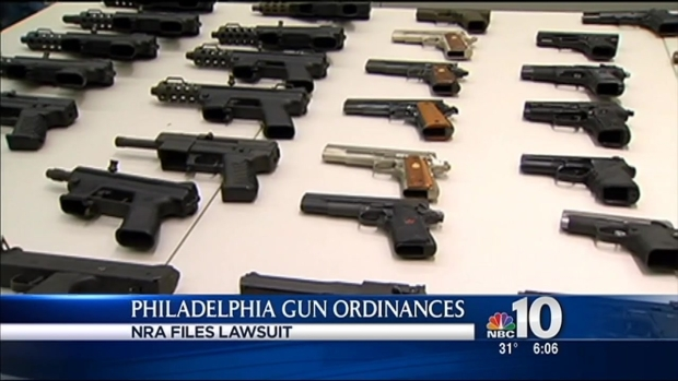 [PHI] NRA Files Lawsuit Against Philadelphia