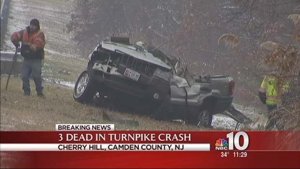 [PHI] 3 Die in New Jersey Turnpike Crash