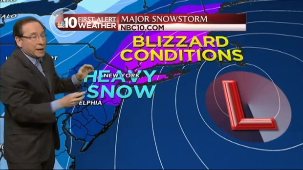 [PHI] NBC10 First Alert Weather: Snow Totals