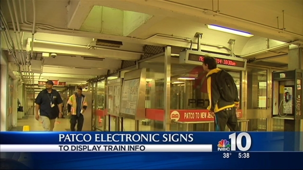 [PHI] New Electronic Signs for PATCO