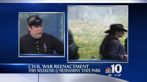 [PHI] State Park to Host Civil War Reenactment