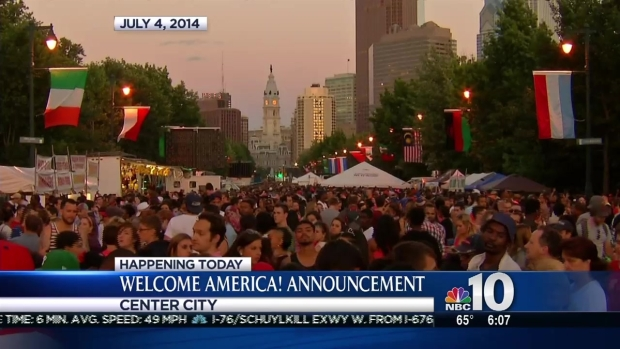 [PHI] Mayor Nutter to Announce 'Welcome America' Details