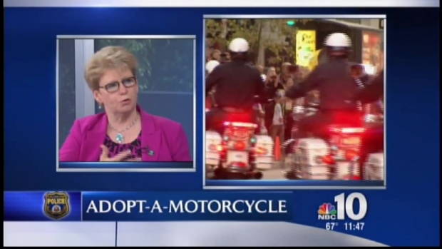 [PHI] Philly Police Want You to Adopt a Motorcyle