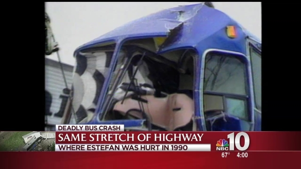 [PHI] Accident on Same Stretch of Highway as Crash That Injured Gloria Estefan