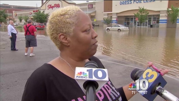Water Main Break Releases 7M Gallons Into Shopping Center