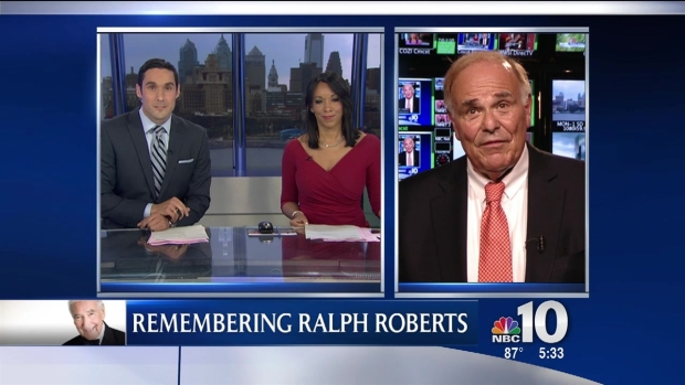 [PHI] Former Gov. and Mayor Ed Rendell Remembers Ralph Roberts