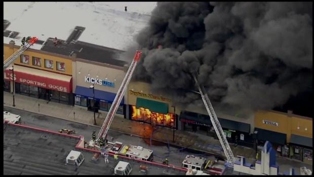 Philadelphia Shoe Store Fire