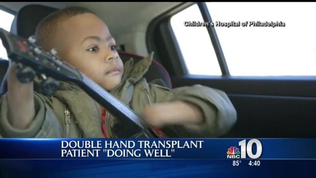[PHI] Young Hand Transplant Patient Making Progress