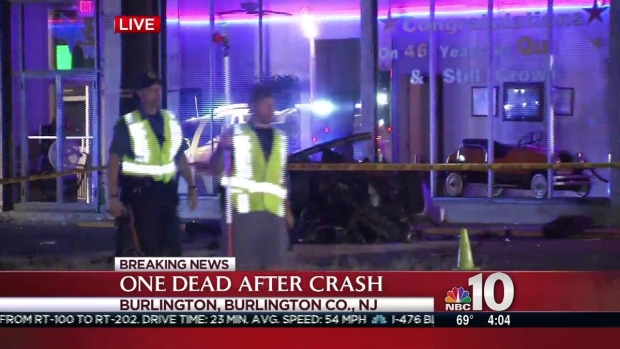 [PHI] 1 Dead in Crash That Split Car in Half