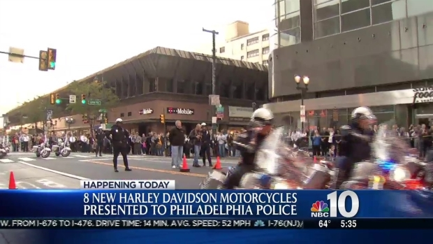 [PHI] Philly Police Get New Motorcycles for Escorting the Pope