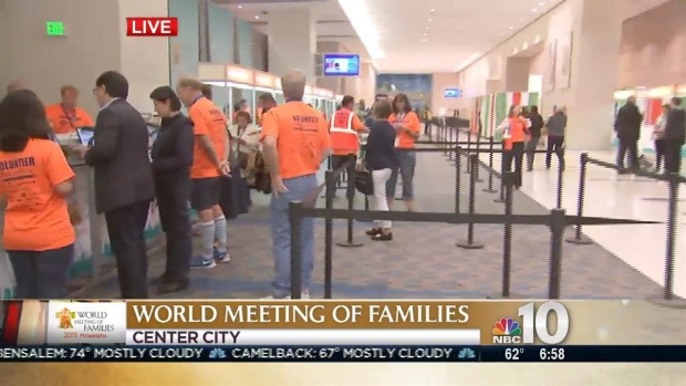[PHI] World Meeting of Families Begins