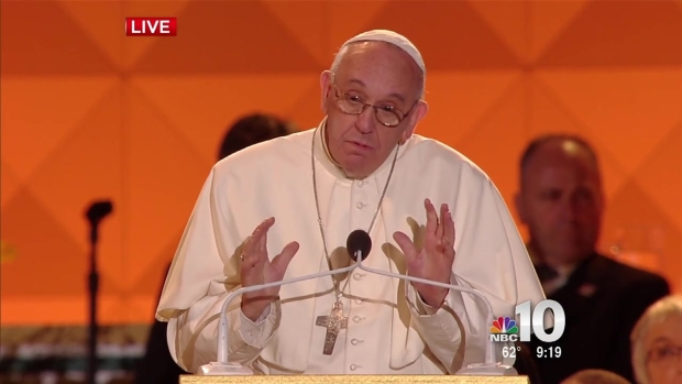 Pope Francis Speaks at the Festival of Families