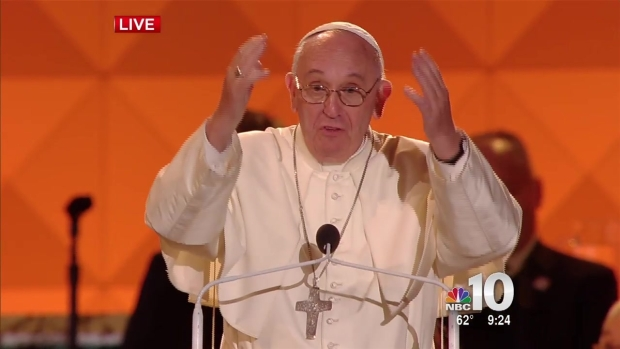 [NATL-PHI] Francis: 'Families Can Quarrel...Sometimes Plates Can Fly'