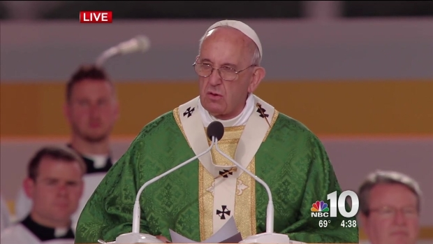 [PHI] Pope Francis' Parkway Mass Homily (Part 2)