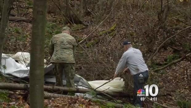 [PHI] Crews Continue to Remove Military Blimp