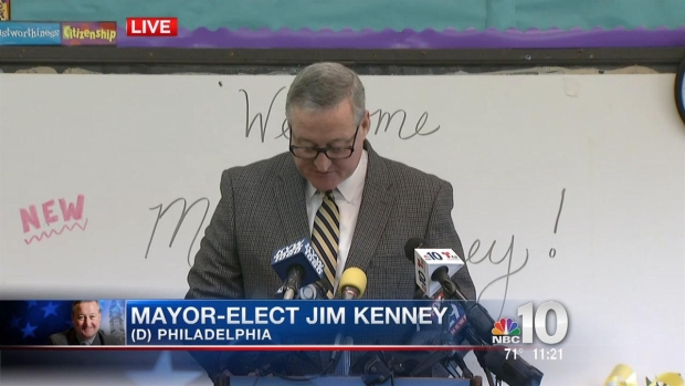 [PHI] Mayor-Elect Kenney Lays Out Transition Plan