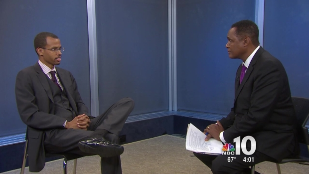 Chaka Fattah Junior Talks to NBC10 - PART 1