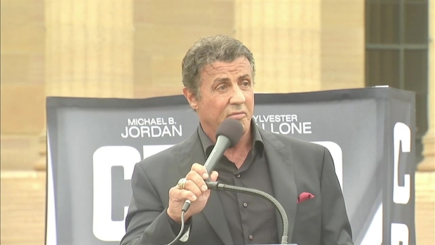 [PHI] Stallone Uses 'Rocky' Steps to Inspire