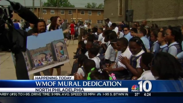 [PHI] Philadelphia's Record Breaking Mural for Pope Francis
