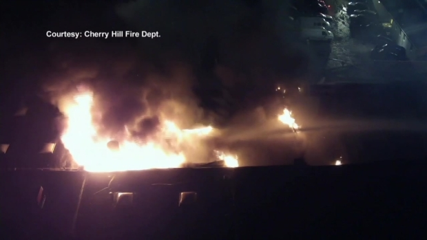 [PHI] Massive Fire at Auto Body Shop