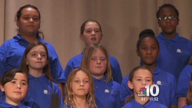 3rd Place Youth Christmas Choir - Wilbur Watts School