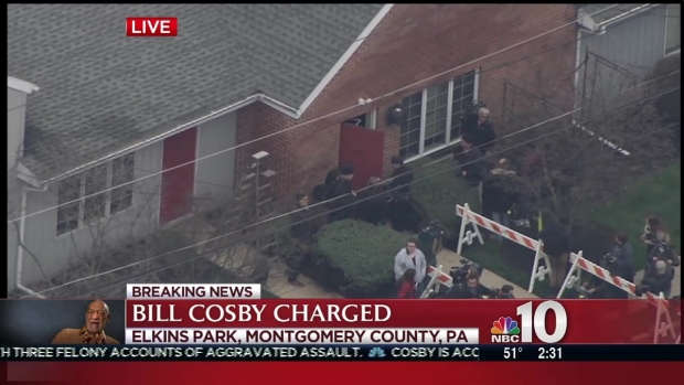 Cosby Free on $1M Bail After Facing Arraignment in 2004 Sex-Assault Case