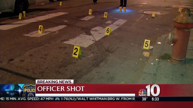 Philly Officer Shot While in Police Cruiser