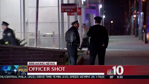 Officer Hospitalized After Ambush Shooting
