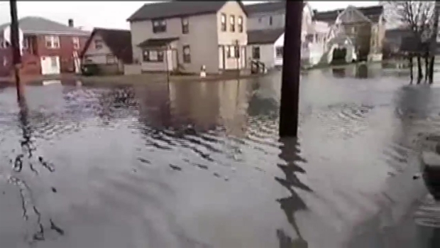 Street Floods in Margate