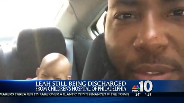 Leah Still to be Discharged from CHOP